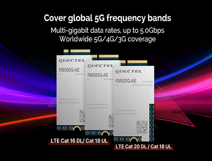 5G modules for 5G commercialization