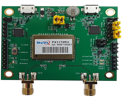 GNSS receiver module for RTK positioning