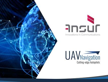Satellite Video Streaming for UAV