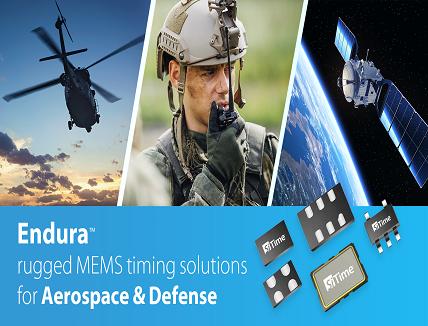 MEMS Oscillators for Aerospace & Defense