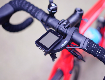 GPS tracking device for cycling