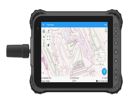 GNSS Tablet for GIS applications