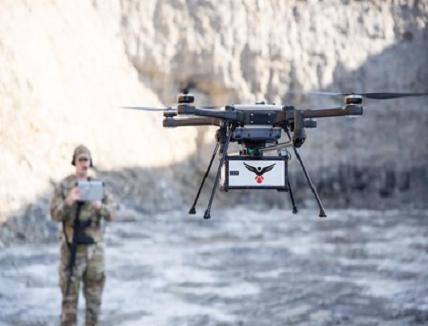 LiDAR Sensor for Small Drones