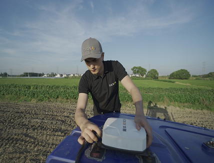Automated Steering System for Agriculture applications