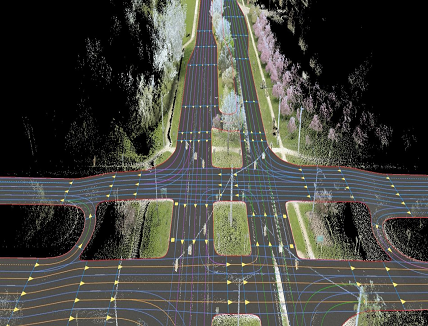 HD map for commercial production vehicles