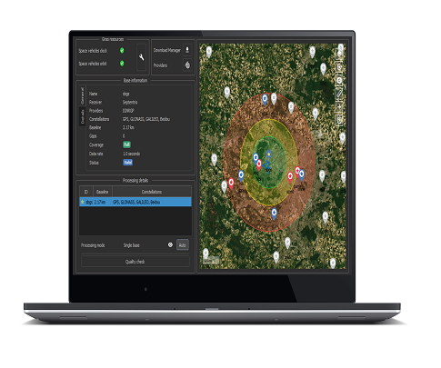 Post-processing Software for Mapping & Surveying