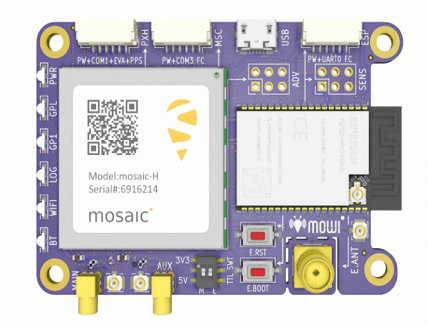 Wireless GNSS Hardware for IoT & Autonomous applications